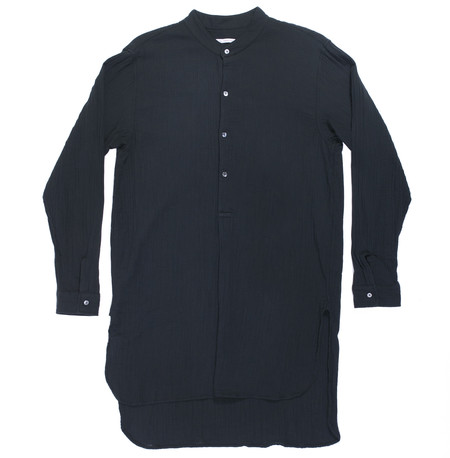 s.k. manor hill Evening Shirt - Black Organic Cotton