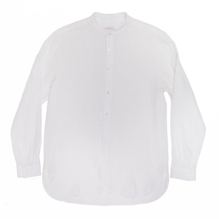 s.k. manor hill Kalamazoo Shirt - White Organic Cotton