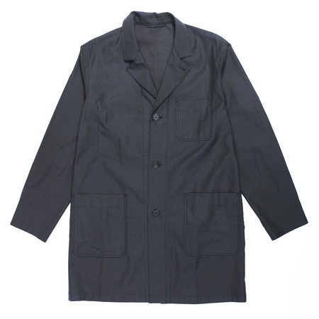 s.k. manor hill Lab Coat - Black