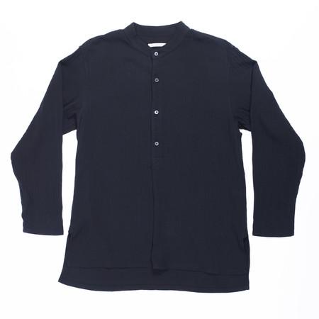 s.k. manor hill Safari Shirt - Black Organic Cotton