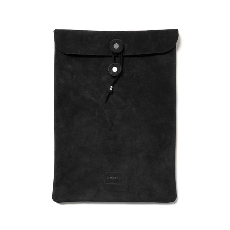 Maple Document Case - Suede