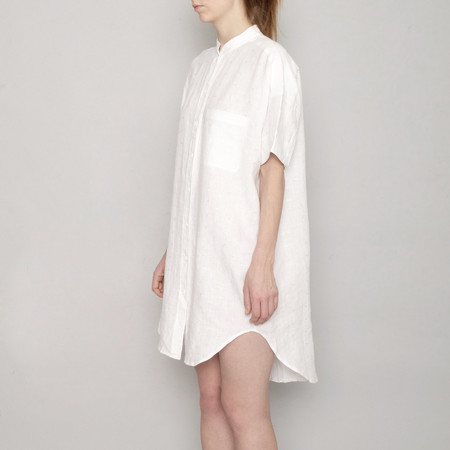 7115 by Szeki Linen Pocket Shirtdress - SS17
