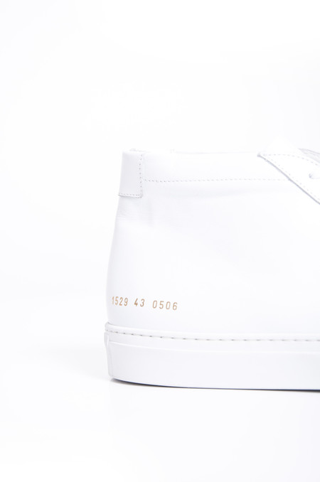 Common Projects Original Achilles Mid White