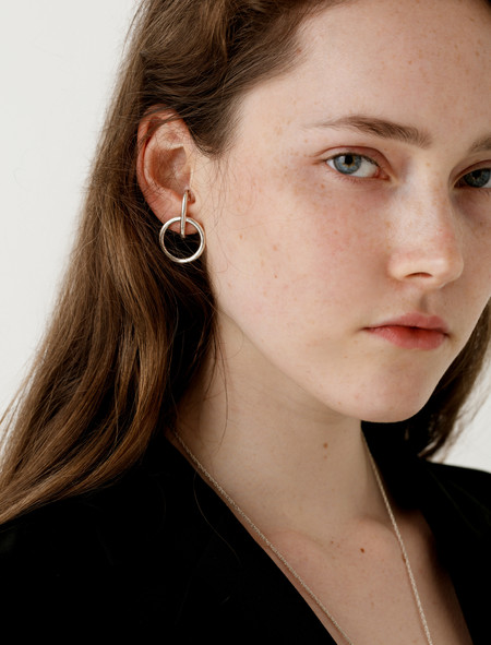 Sophie Buhai Tiny Isabel Hoop Earrings