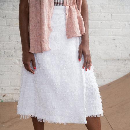 Nikki Chasin Jetty Wrap Skirt - White