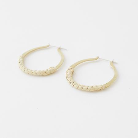 Crescioni kiva earrings - palm