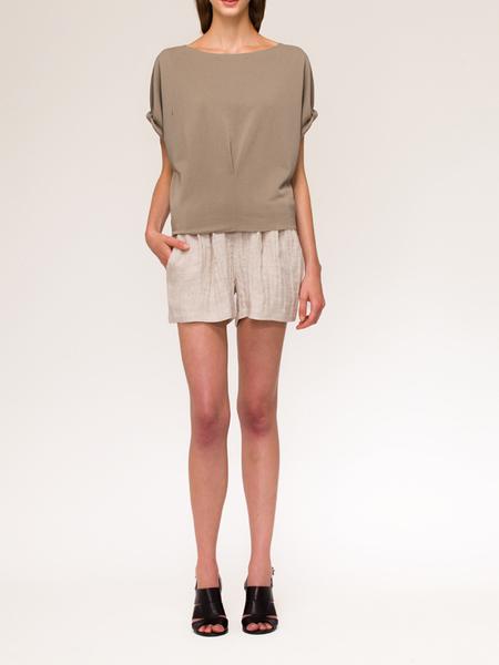 Valérie Dumaine Ridge Shorts