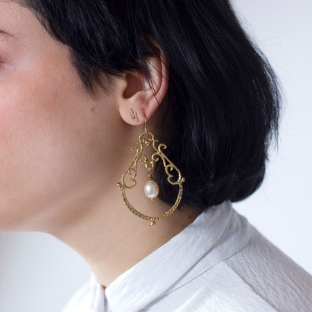 Sarah De Gasperis Empress Earrings