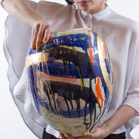 Yolande Clark 'Extra Large Pot'