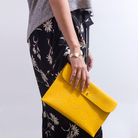Danielle Wright 'Yellow Clutch'