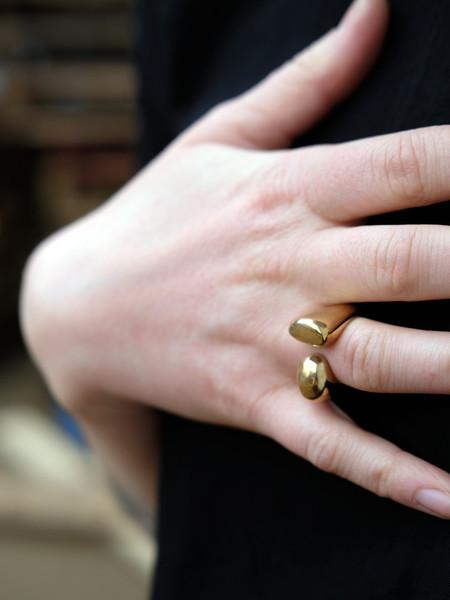 Uni Jewelry ORA RING IN CAST BRONZE
