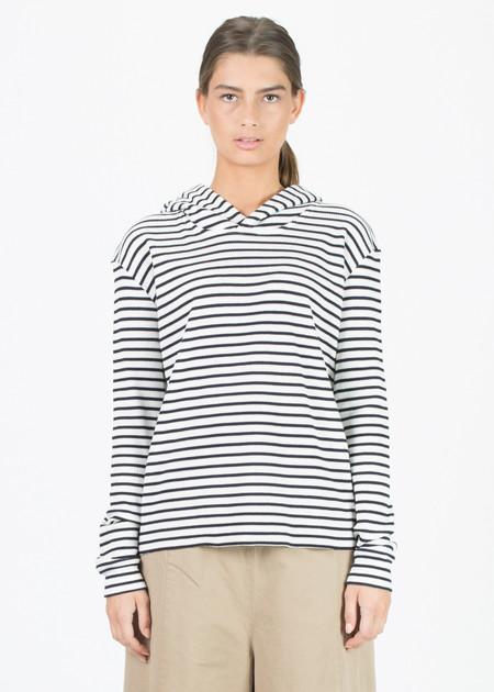 Sibel Saral Striped Paris Hoodie