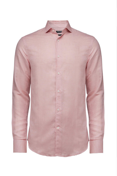 Tiger of Sweden Farrell 5 Linen Shirt - Powder Pink