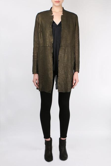 Salvatore Santoro Mid Leather Over Coat