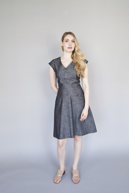 Jennifer Glasgow – Occur Dress Black Denim