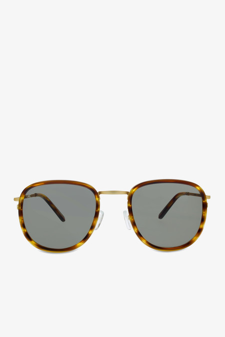 Smoke x Mirrors Golden brown sunglasses in caramel tortoise