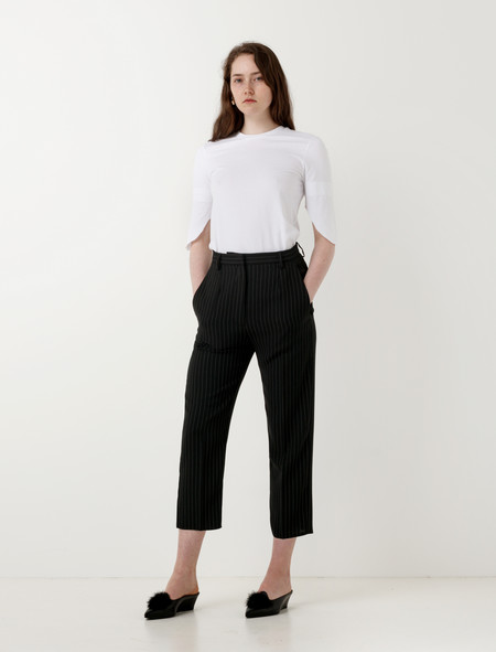 MM6 by Maison Margiela Pinstripe Trousers