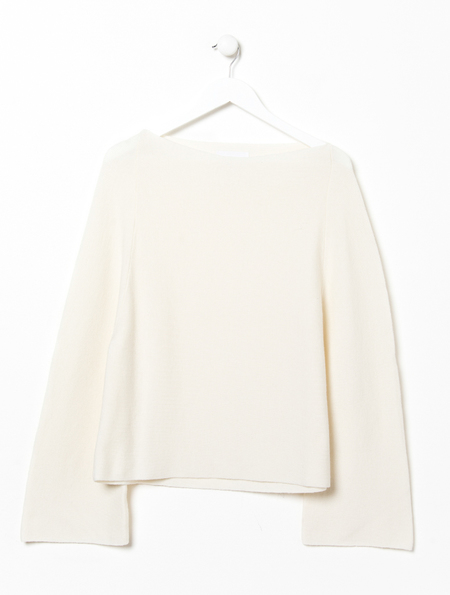 Charlie May Ivory Bell Sleeve Knit