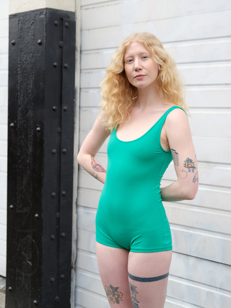 Sunja Link ONE PIECE SWIMSUIT IN EMERALD