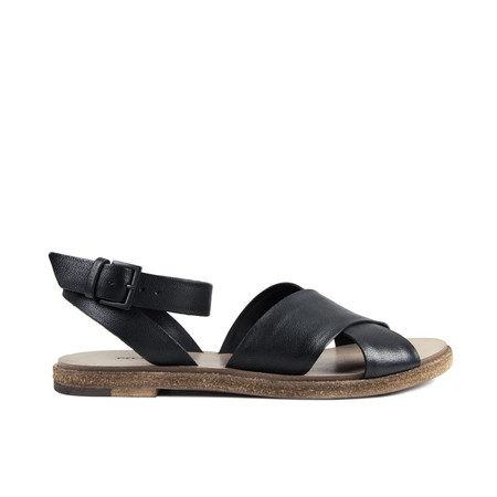 Del Carlo cross sandal