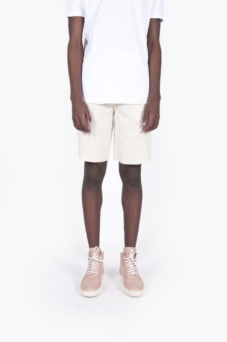 Aimé Leon Dore Cotton Basketball Shorts Cream