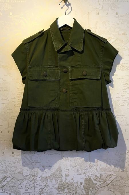 Harvey Faircloth Short Sleeve Army Shirt