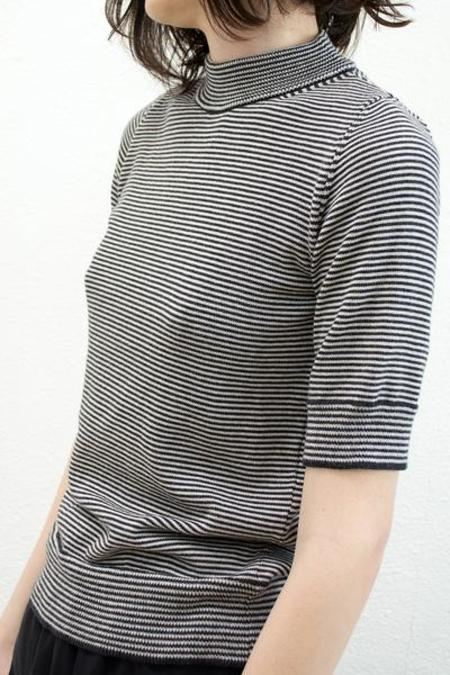 Micaela Greg Mini Stripe Top