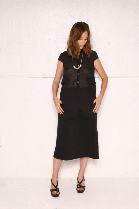 Intentionally Blank ESPACE Dress in Black