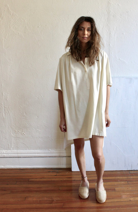 House Dress House Muumuu in Cream