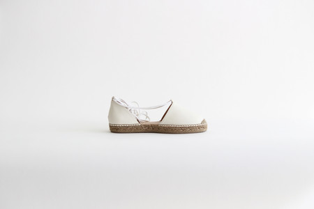 Vamp Shoes Astor White Leather