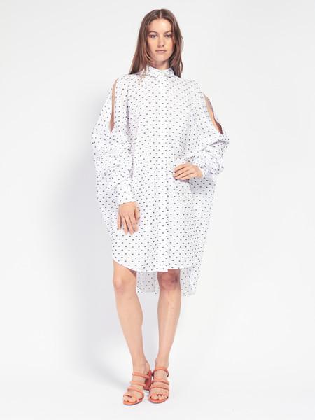 Henrik Vibskov Bumble Shirt Dress White