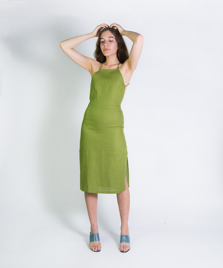 Paloma Wool Green Carlotta III Dress