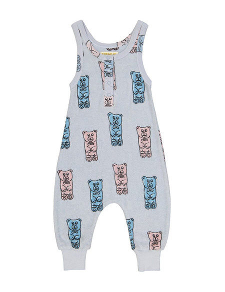 Kid's Hugo Loves Tiki GUMMY BEAR PRINT PLAYSUIT