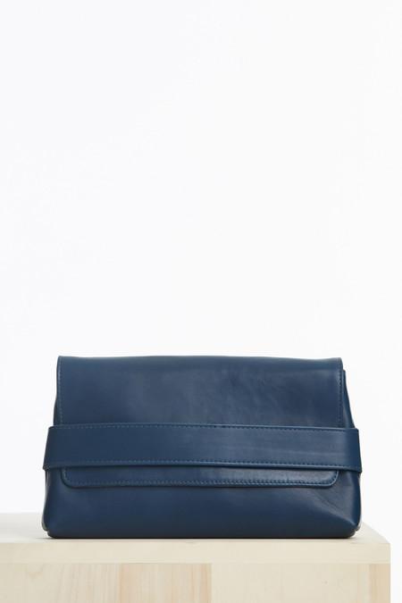 Ceri Hoover Alys clutch in pacific blue