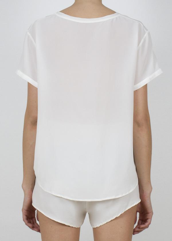 skiff t - white
