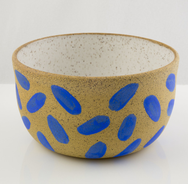 Ben Medansky Blue Nub Bowl