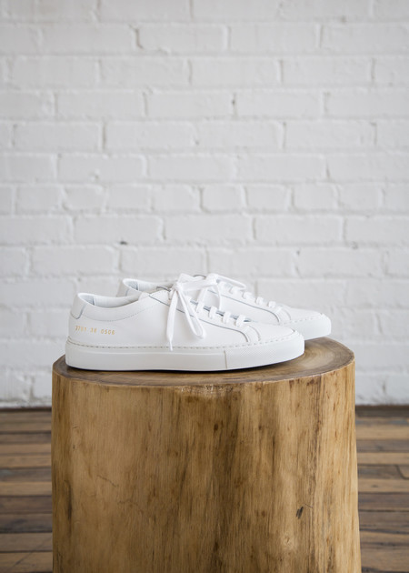 Women by Common Projects Achilles Low White