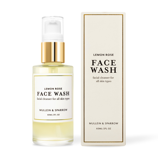 Mullein & Sparrow Lemon Rose Face Cleanser