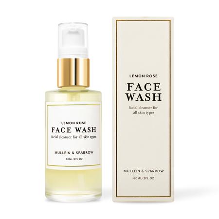 Mullein & Sparrow Lemon Rose Face Cleanser