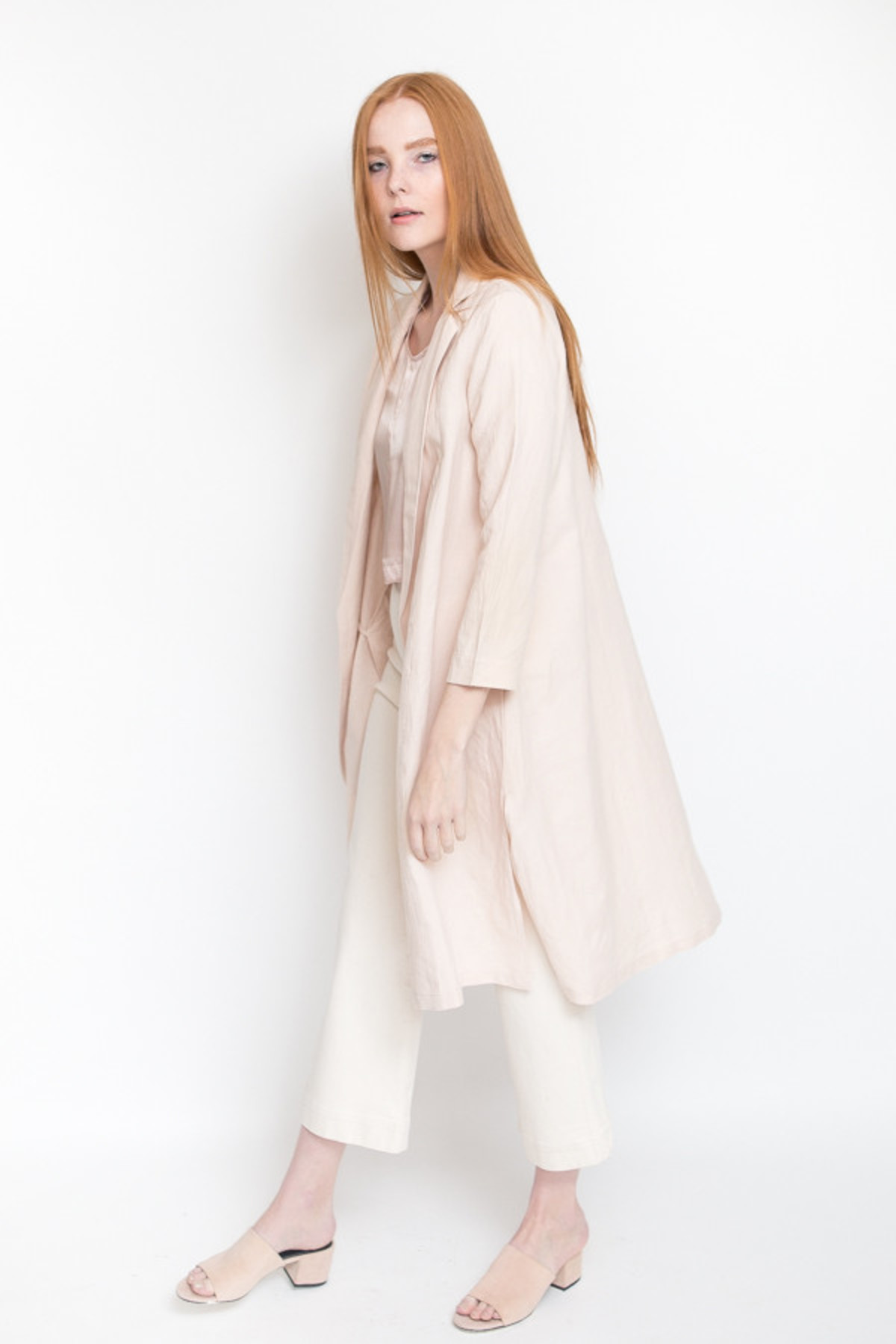 Ali Golden Silk T Shirt Blush Garmentory