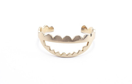 Annie Costello Brown Jawbreaker Cuff