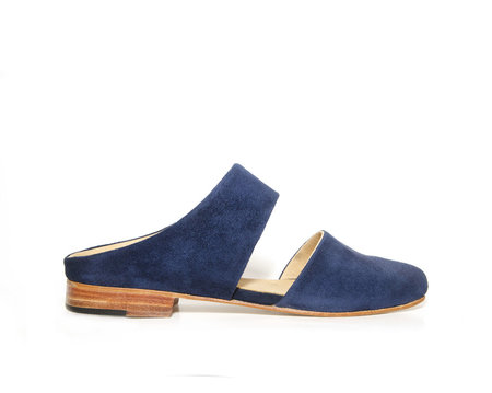 ZOU XOU Mule in Midnight Suede