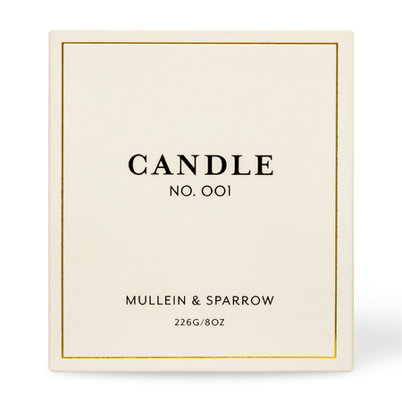 Mullein & Sparrow Candle 001 - Amrit Vela