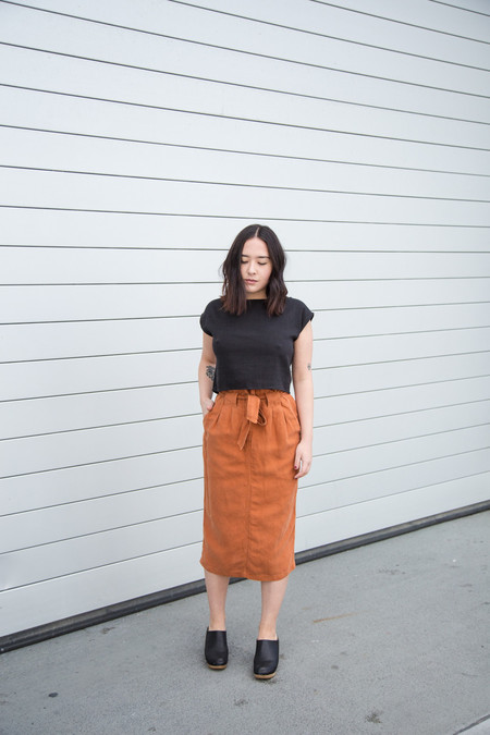 Nico Nico Lily Skirt in Magma