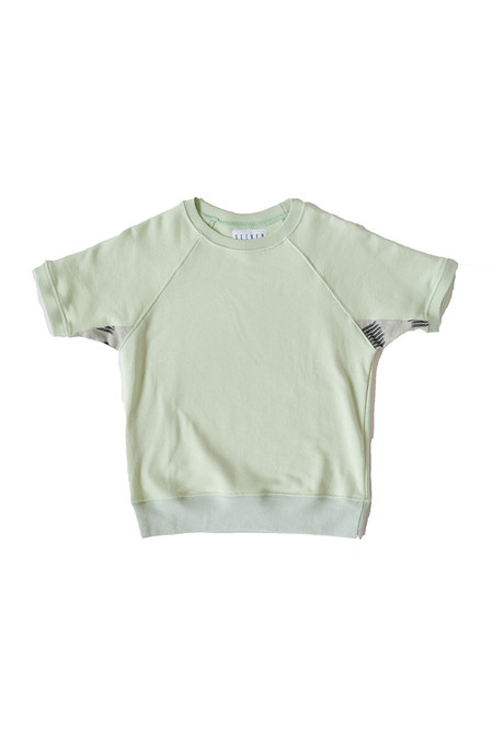 Unisex SEEKER Raglan Sweatshirt in Mint