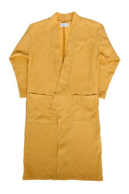 Unisex SEEKER Kimono in Turmeric