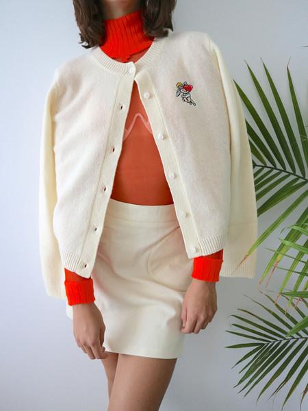 Ashley Williams - Embroidered Cherub Cardigan