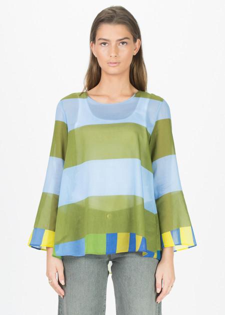 Odeeh Multi Stripe Long Sleeve Shirt