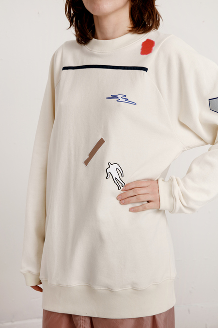 Reality Studio Juwae Sweatshirt - Cream
