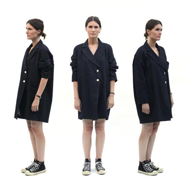 Sunja Link Tailored Denim Coat